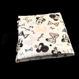 Livre photo tissu personnalisé Disney Minnie, album photo tissu pour bébé, livre doudou *******
