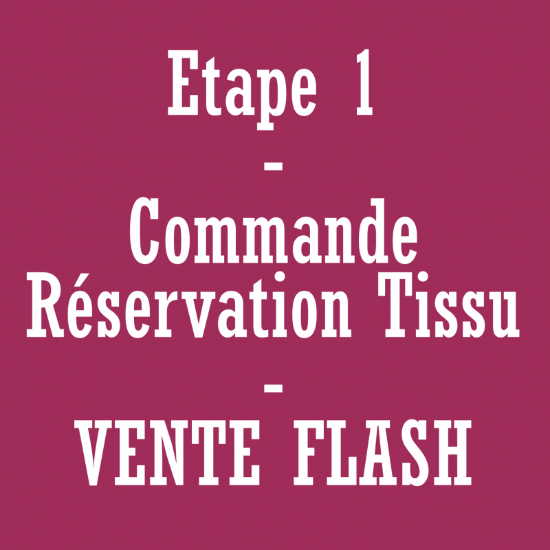 Commande/réservation de tissu - vente flash *******