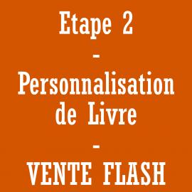 Personnalisation de livre - vente flash *******