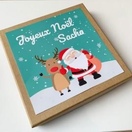 Boite cadeau Noël, Naissance, Anniversaire, Enfant, bébé *******